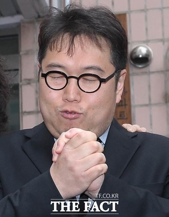 김용민 제명될 듯. 김용민 씨가 17일 자유한국당에 입당했으나, 당측은 제명키로 한 것으로 알려졌다./더팩트DB