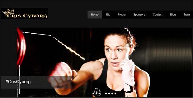 사이보그, 데 란다미에와 UFC 맞대결 전망! 사이보그가 UFC 여자부 페더급 초대 챔피언에 오른 데란다미에와 승부를 벌일 것으로 예상된다. /크리스 사이보그 홈페이지 캡처