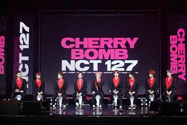 그룹 NCT127이 19일 '클릭스타워즈' 가수랭킹 24위에 이름을 올렸다. 남은 투표 기간 동안 좋은 성적을 이룰 수 있을지 주목된다. /SM엔터테인먼트 제공